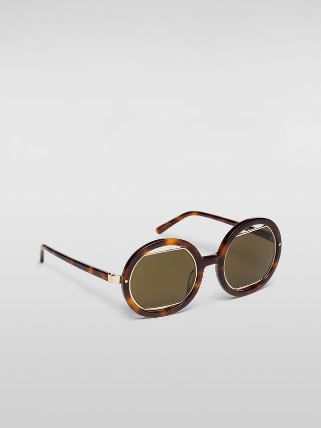 Marni Marni SUNRISE sunglasses in acetate Woman - 2