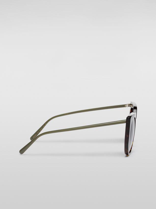 Marni Marni DAY sunglasses in acetate tortoise Woman - 3