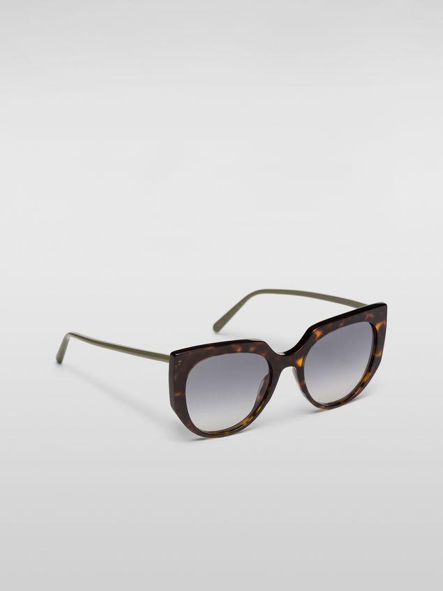 Marni Marni DAY sunglasses in acetate tortoise Woman - 2