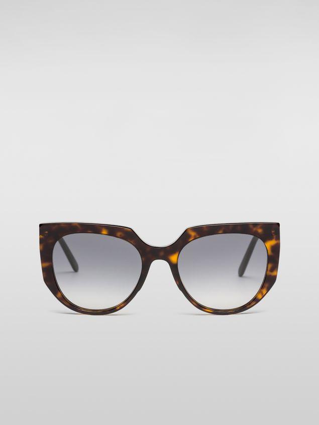 Marni Marni DAY sunglasses in acetate tortoise Woman - 1
