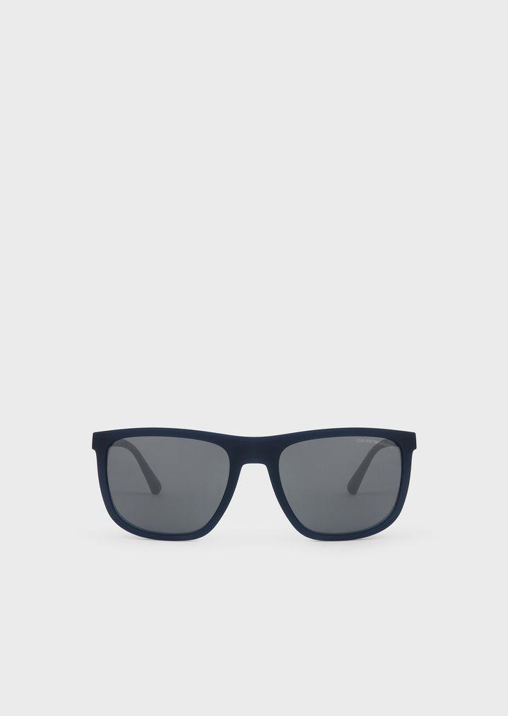 51adf22197 Eagle Mania nylon fibre sunglasses with logo plaque