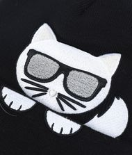 KARL LAGERFELD K/Ikonik Choupette Beanie Hat 9_f