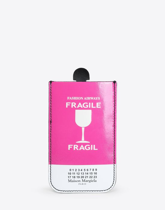 MAISON MARGIELA Fragile print wallet Wallet [*** pickupInStoreShipping_info ***] f