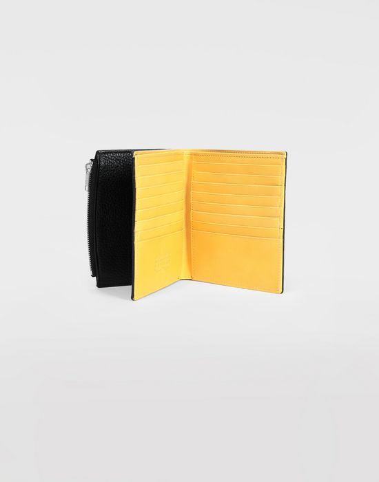 MAISON MARGIELA Large double fold leather wallet Wallets [*** pickupInStoreShippingNotGuaranteed_info ***] d