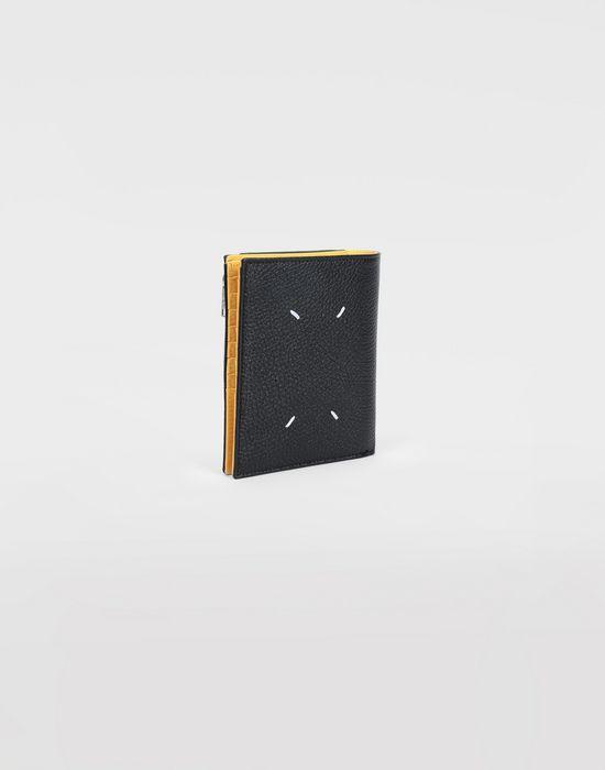 MAISON MARGIELA Large double fold leather wallet Wallets [*** pickupInStoreShippingNotGuaranteed_info ***] r