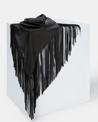 NERYL leather scarf