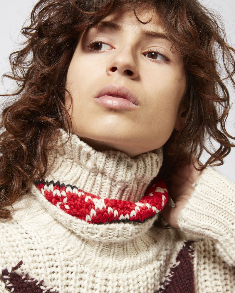ESTIL graphic collar ISABEL MARANT