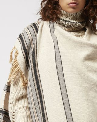 ISABEL MARANT SCARF Woman ODESSA wrap d