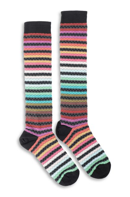 MISSONI Socks Green Woman - Back