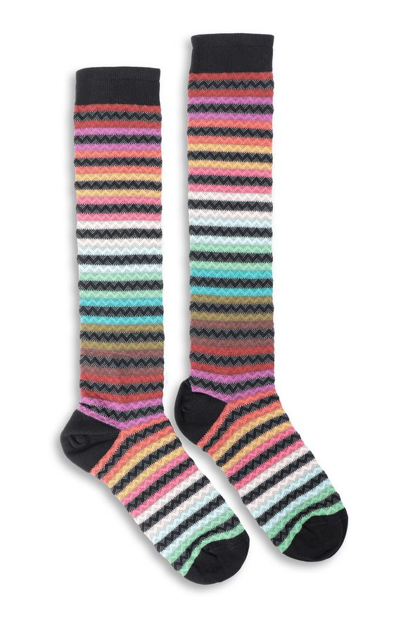 MISSONI Socks Green Woman
