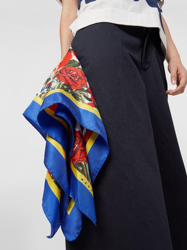 "Marni Square silk scarf with Duncraig print - 90cmx90cm/35""x35"" Woman - 2"
