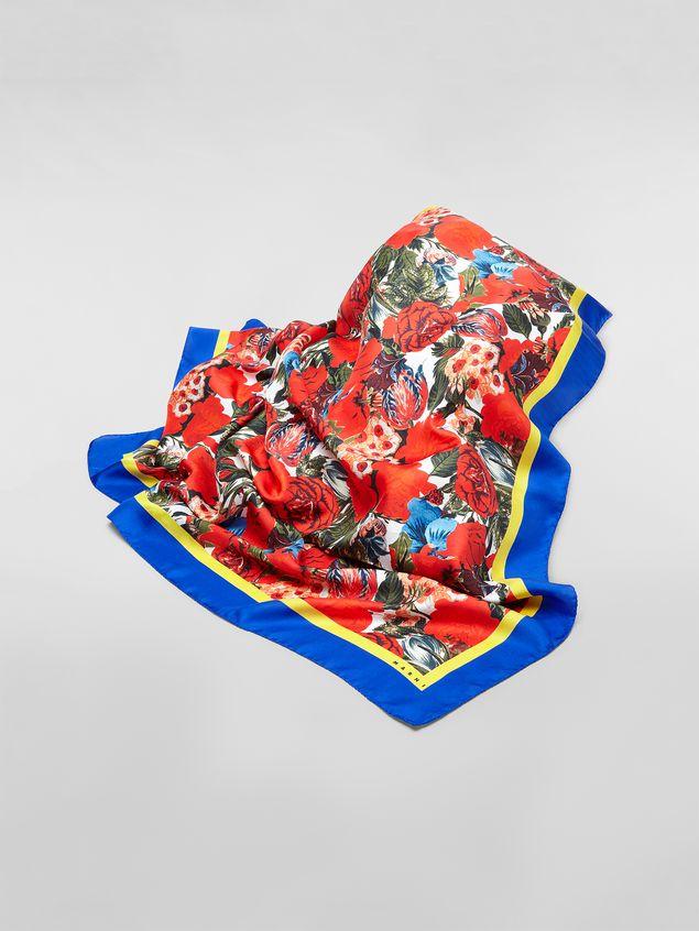 b4b653815b5 Marni Foulard carré en soie avec imprimé Duncraig