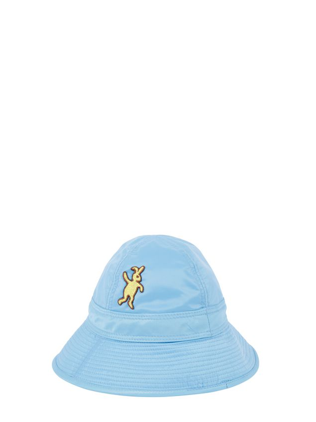 Marni Fisherman hat in pale blue nylon  Woman - 2