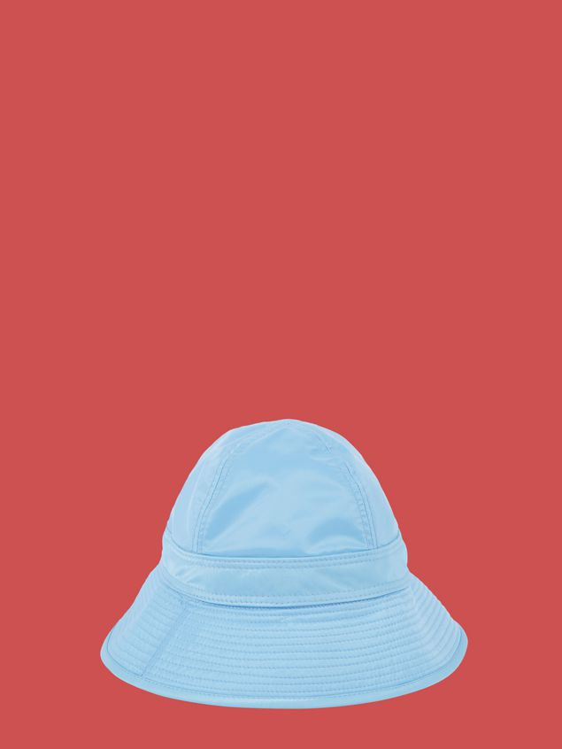 Marni Fisherman hat in pale blue nylon  Woman - 1