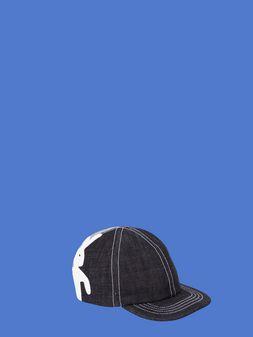 Marni Cap in non-washed denim Man