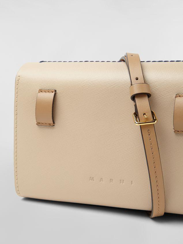 Marni Belt bag in tone-on-tone tan calfskin  Woman - 5