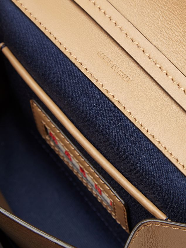 Marni Belt bag in tone-on-tone tan calfskin  Woman - 4