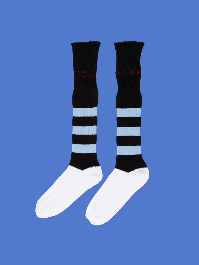 Marni Sock in cotton blend with inlay on the leg Man - 1