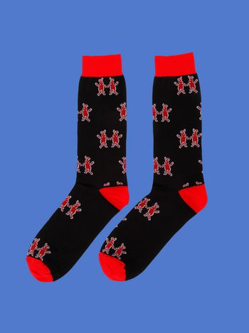 Marni Sock in cotton blend with Dance Bunny inlay Man