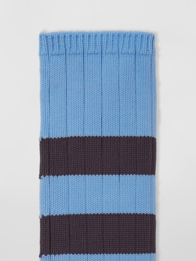 Marni Socks in cotton with striped motif Man - 3
