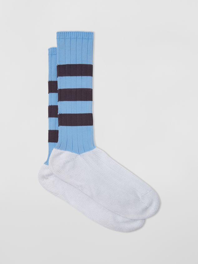 Marni Socks in cotton with striped motif Man - 1