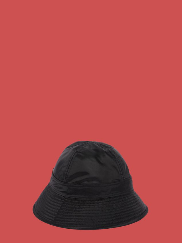 Marni Fisherman hat in black nylon  Woman - 1