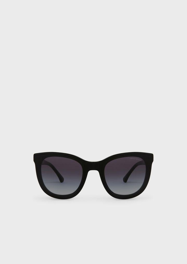 f5bd01c26033 Transparency lens square acetate sunglasses