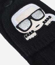 KARL LAGERFELD K/Ikonik Wool Gloves 9_f