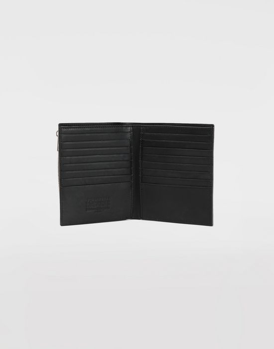 MAISON MARGIELA Large double fold leather wallet Wallets [*** pickupInStoreShippingNotGuaranteed_info ***] d
