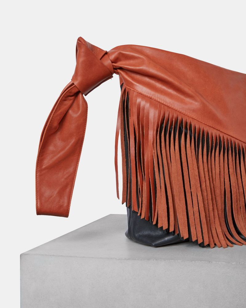 FARWO fringed clutch bag ISABEL MARANT
