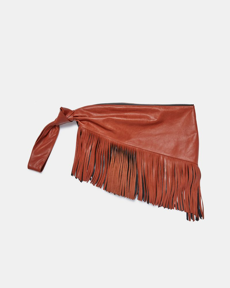 a6b069df795 ... FARWO fringed clutch bag ISABEL MARANT ...