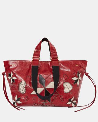 WARDY NEW embroidered shopper bag