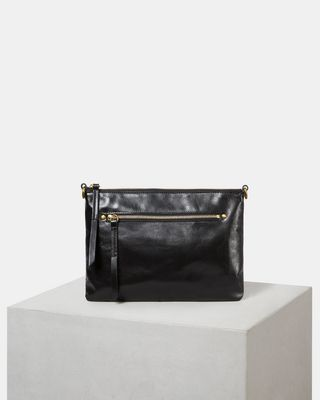NESSAH zipped clutch bag