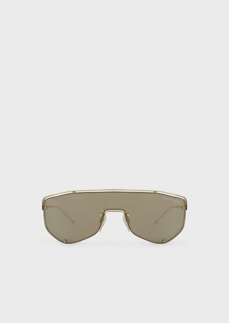 4939b37fa4 Catwalk Man sunglasses with mask-style lenses