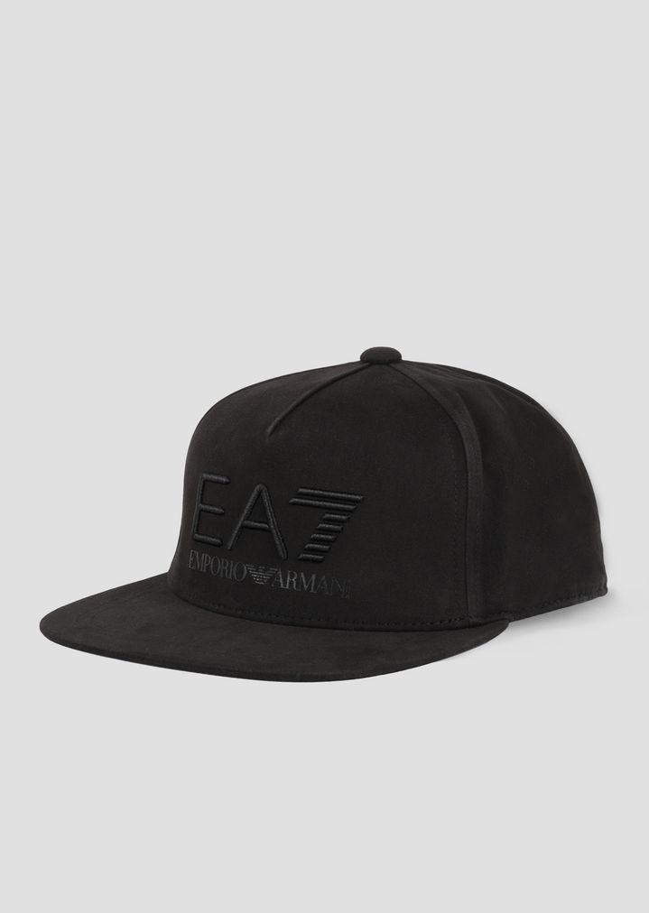 c798300165 Baseball cap with flat peak and EA7 logo | Man | Ea7