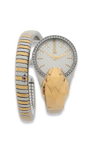 JUST CAVALLI Watch [*** pickupInStoreShipping_info ***] Snake watch in steel f