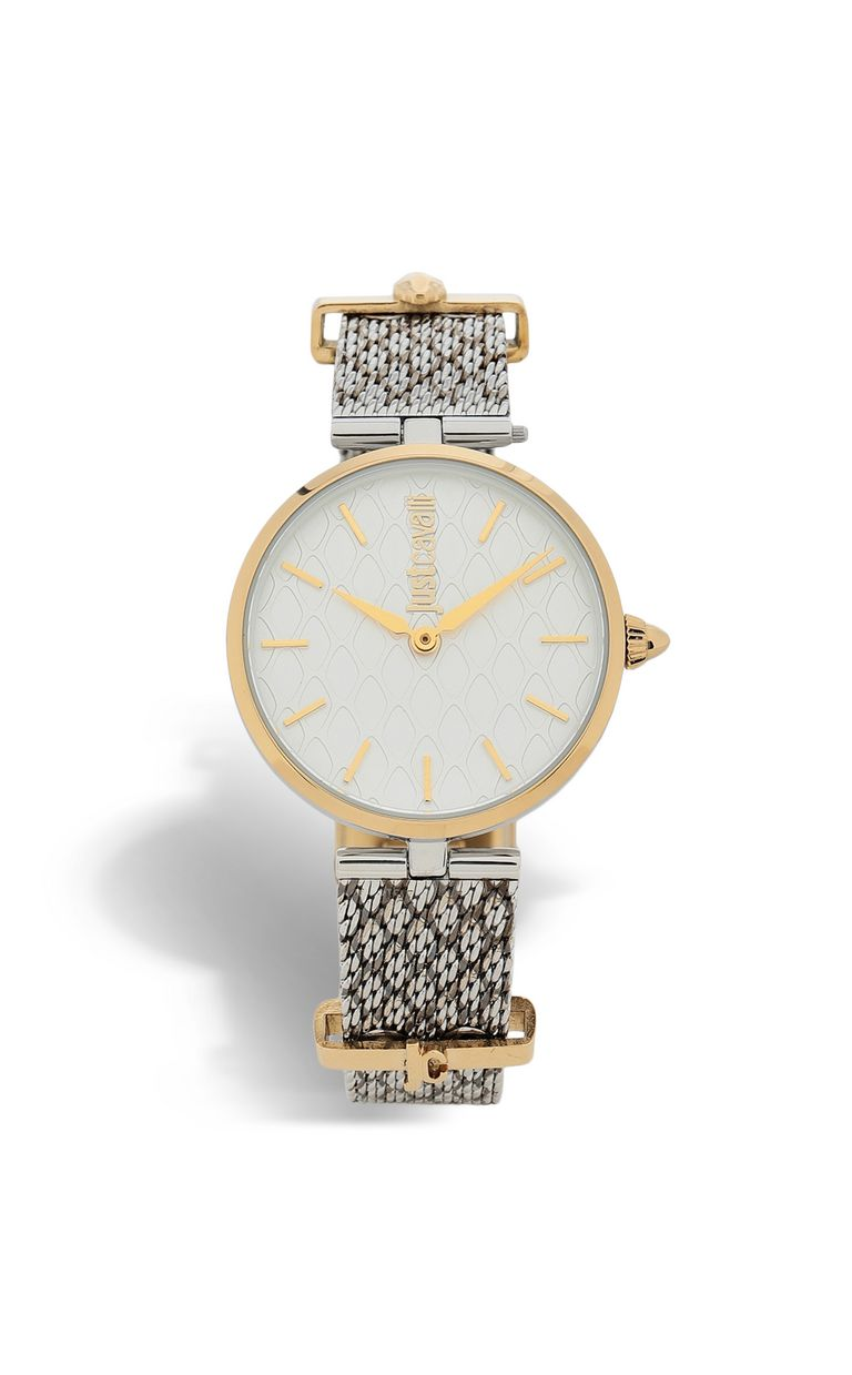 JUST CAVALLI Two-tone snakeskin-effect watch Watch [*** pickupInStoreShipping_info ***] f