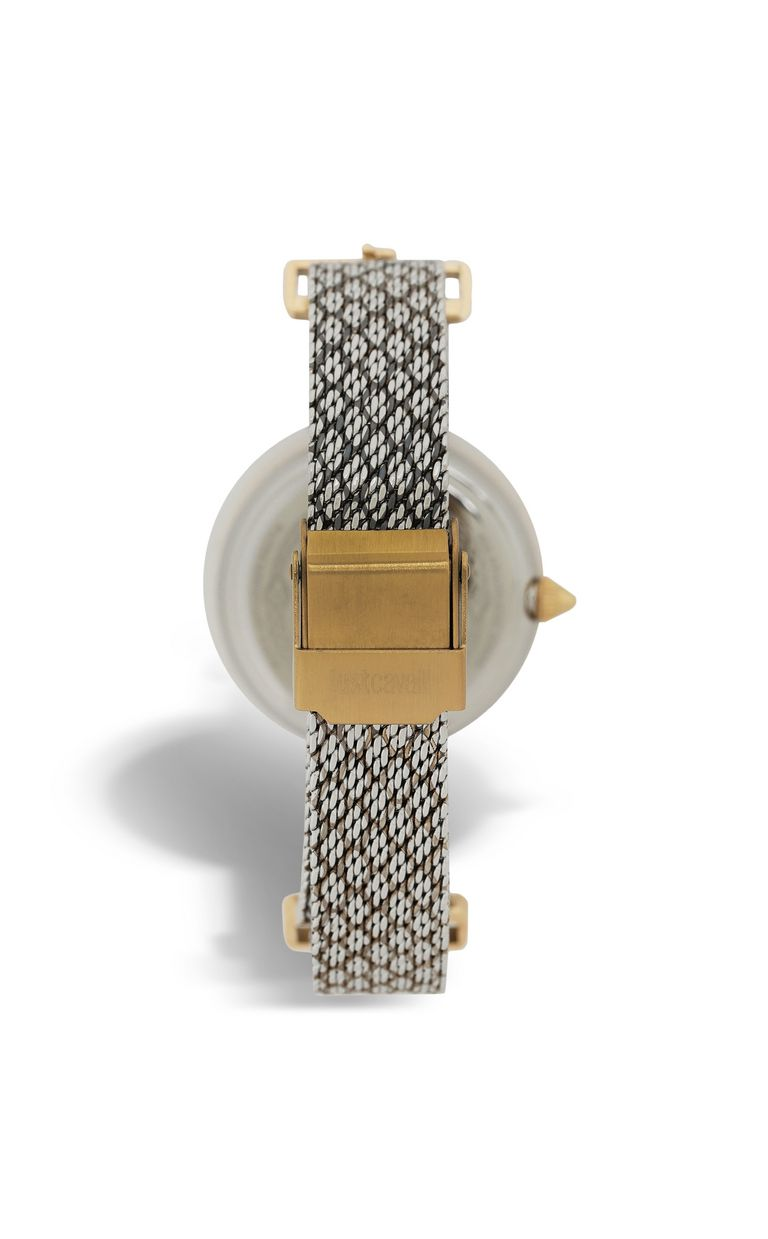 JUST CAVALLI Two-tone snakeskin-effect watch Watch [*** pickupInStoreShipping_info ***] r