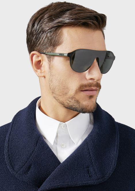 Cat Walk sunglasses with mask frame