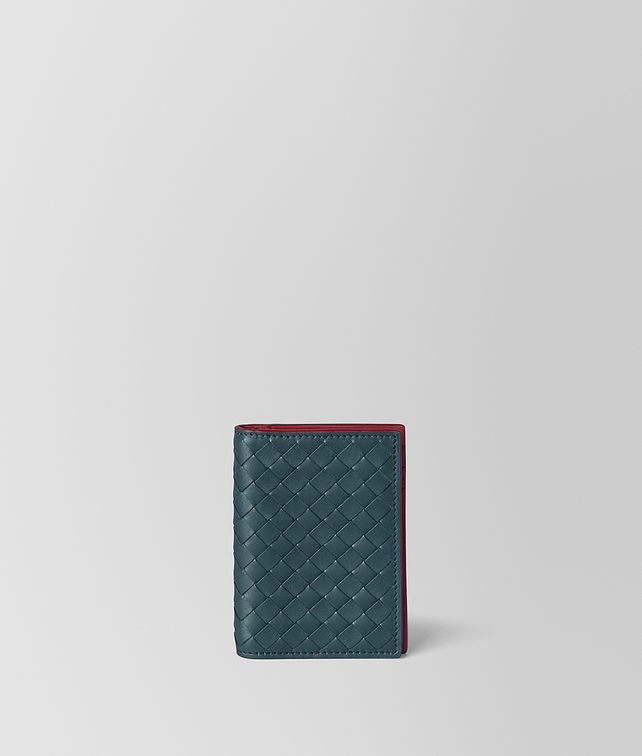 BOTTEGA VENETA CARD CASE IN INTRECCIATO VN AND NAPPA Card Case Man fp