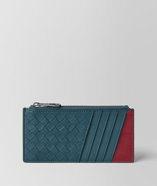 CARD CASE IN NAPPA BICOLOUR