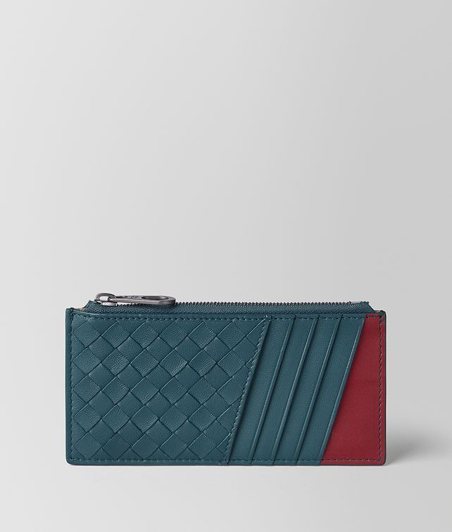 BOTTEGA VENETA CARD CASE IN NAPPA BICOLOUR Card Case Man fp