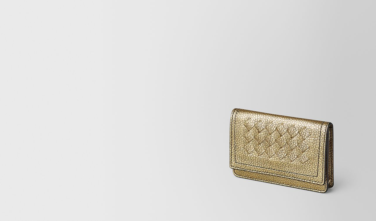 card case in metallic calf leather  landing