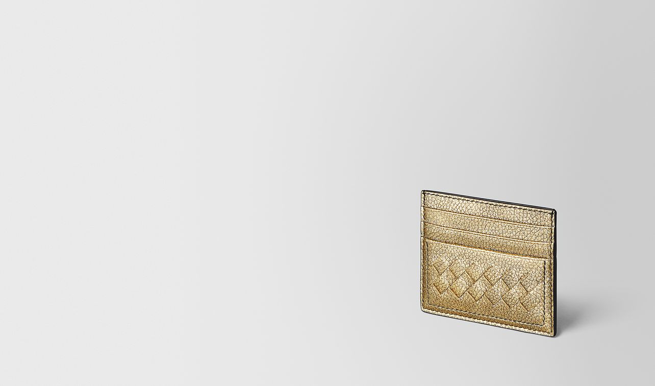 card case in metallic calf  landing