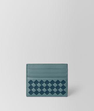 CARD CASE IN INTRECCIATO CHECKER