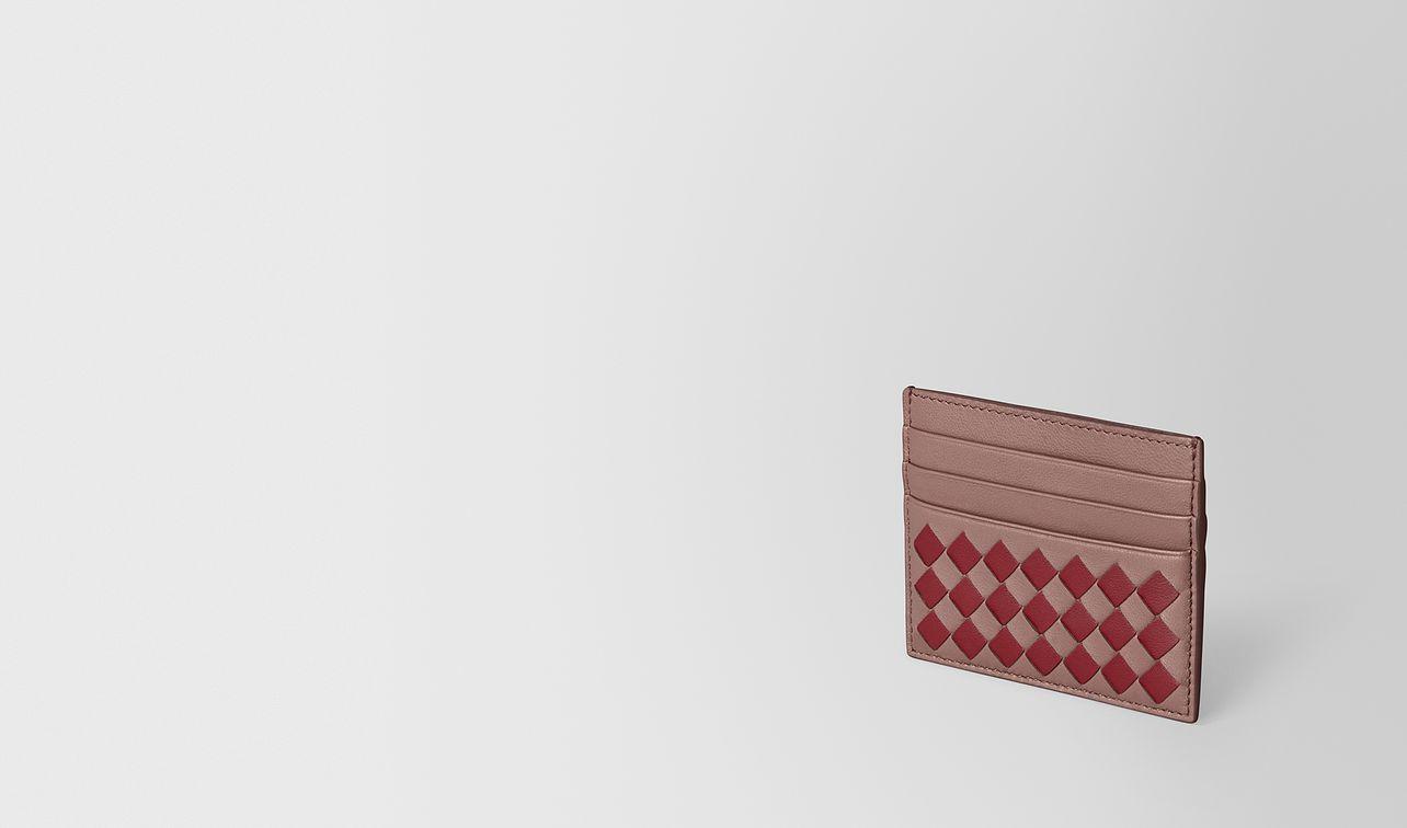porta carte in intrecciato checker  landing