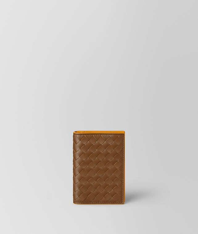BOTTEGA VENETA CARD CASE IN INTRECCIATO VN AND NAPPA Card Case or Coin Purse [*** pickupInStoreShippingNotGuaranteed_info ***] fp