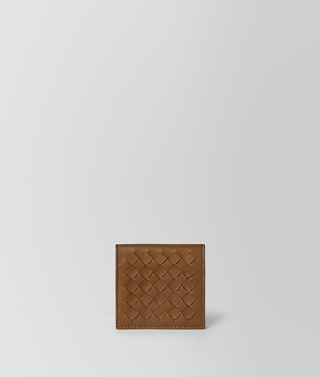 BOTTEGA VENETA COIN PURSE IN NAPPA BICOLOUR Small Wallet [*** pickupInStoreShippingNotGuaranteed_info ***] fp