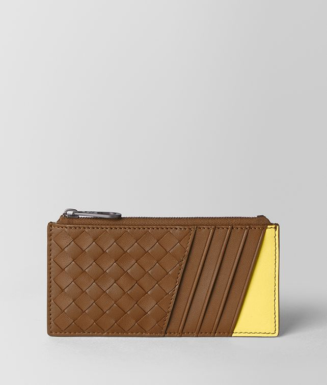 BOTTEGA VENETA CARD CASE IN NAPPA BICOLOR Card Case [*** pickupInStoreShippingNotGuaranteed_info ***] fp