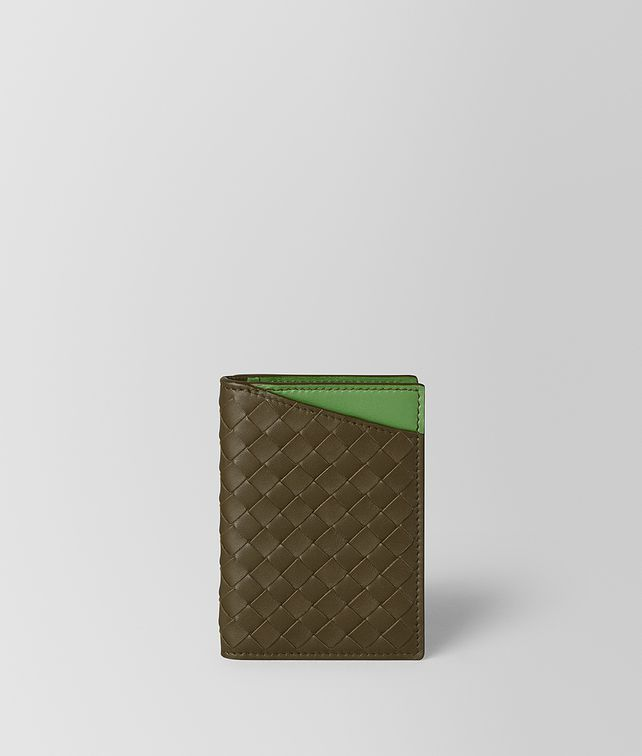 BOTTEGA VENETA CARD CASE IN NAPPA BICOLOR Card Case or Coin Purse [*** pickupInStoreShippingNotGuaranteed_info ***] fp